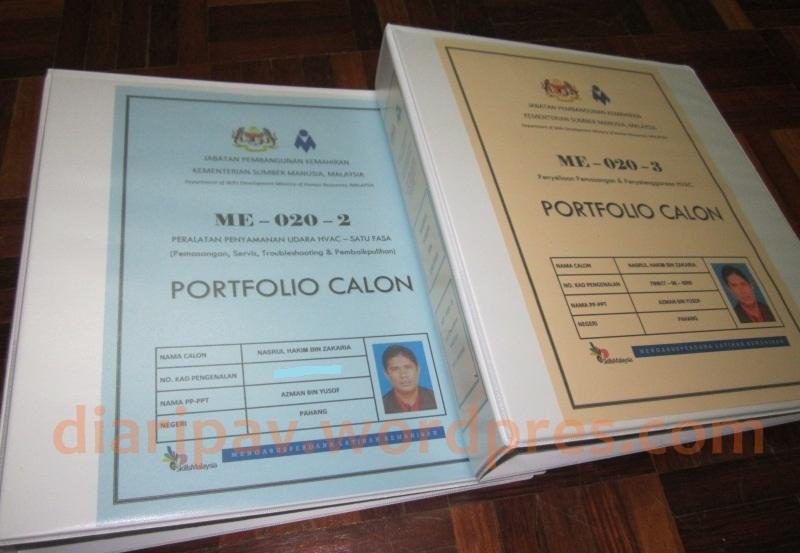 Contoh Fail Portfolio Calon SKM