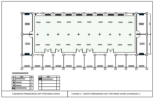 plan lantai bilik guru