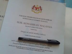 sijil VTO