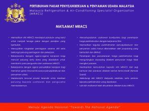Matlamat MRACS